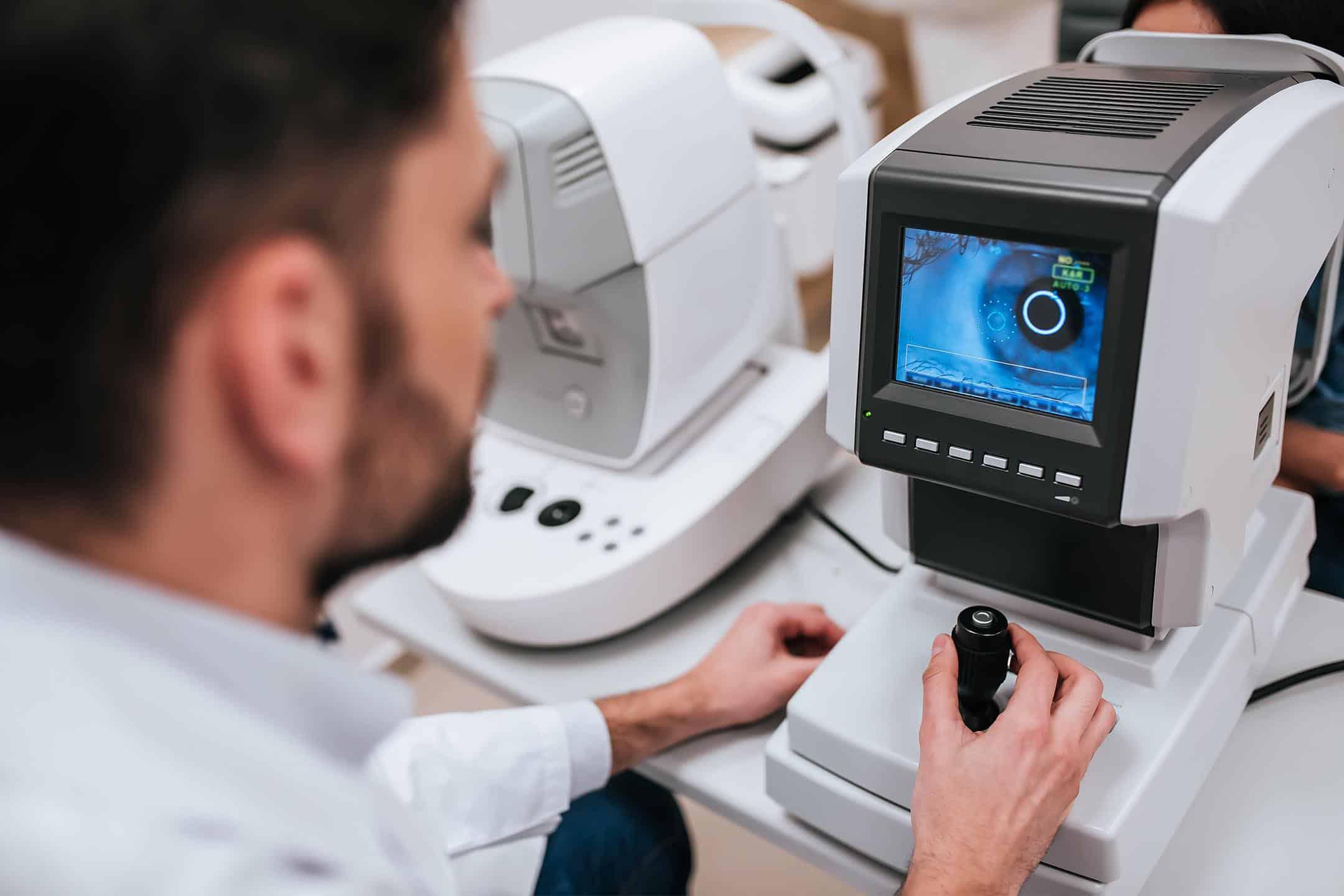 OCT Scan, OCT scanner, best optician, eye tests